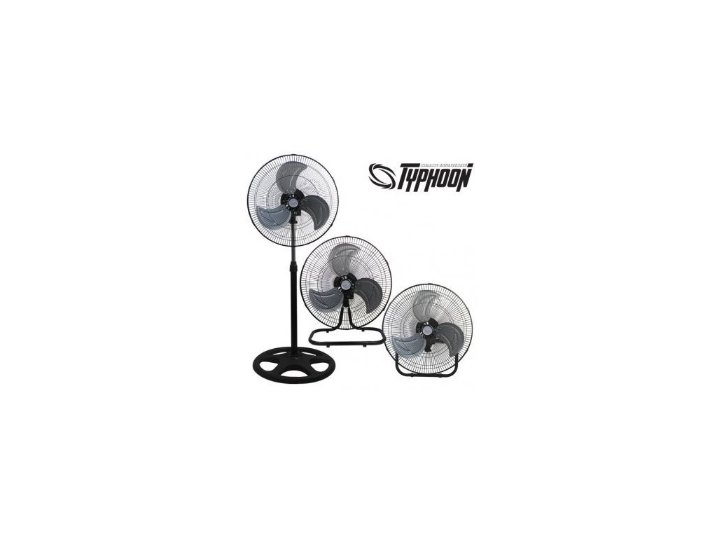 Ventilátor TYPHOON 3v1, průměr 45cm