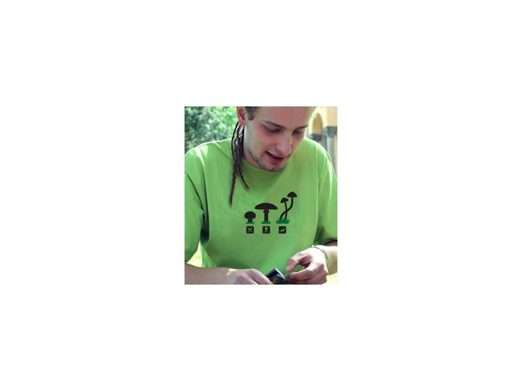 Pánské tričko - Letecká houba