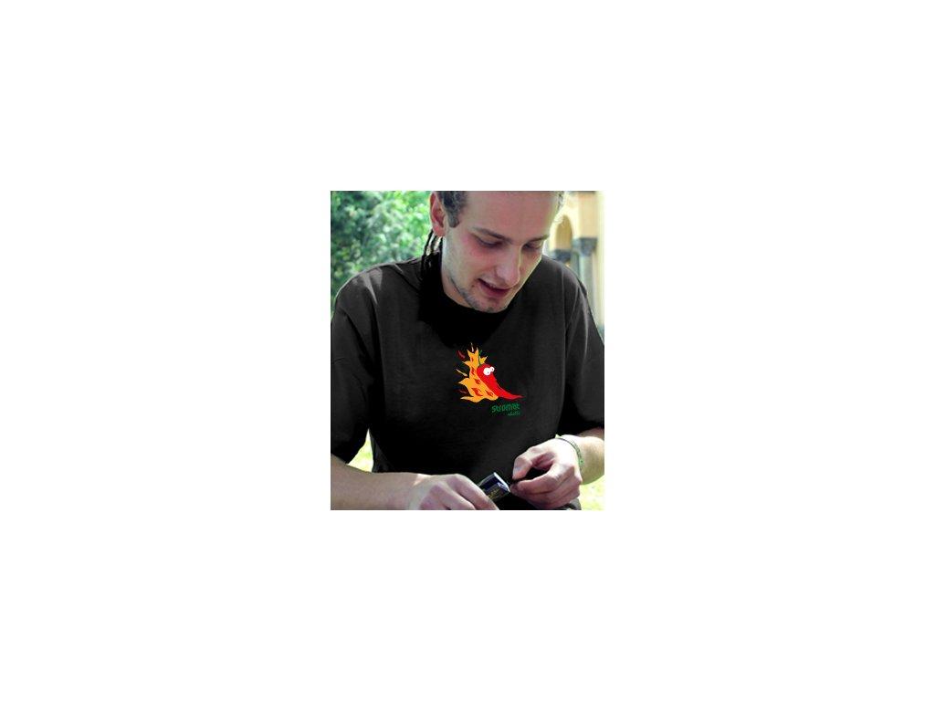 Pánské tričko - Ohnivá chilli