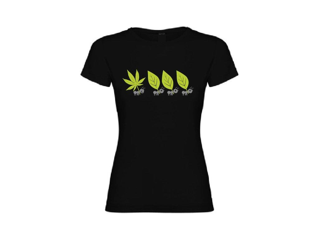Dámské tričko - Veselý mravenec