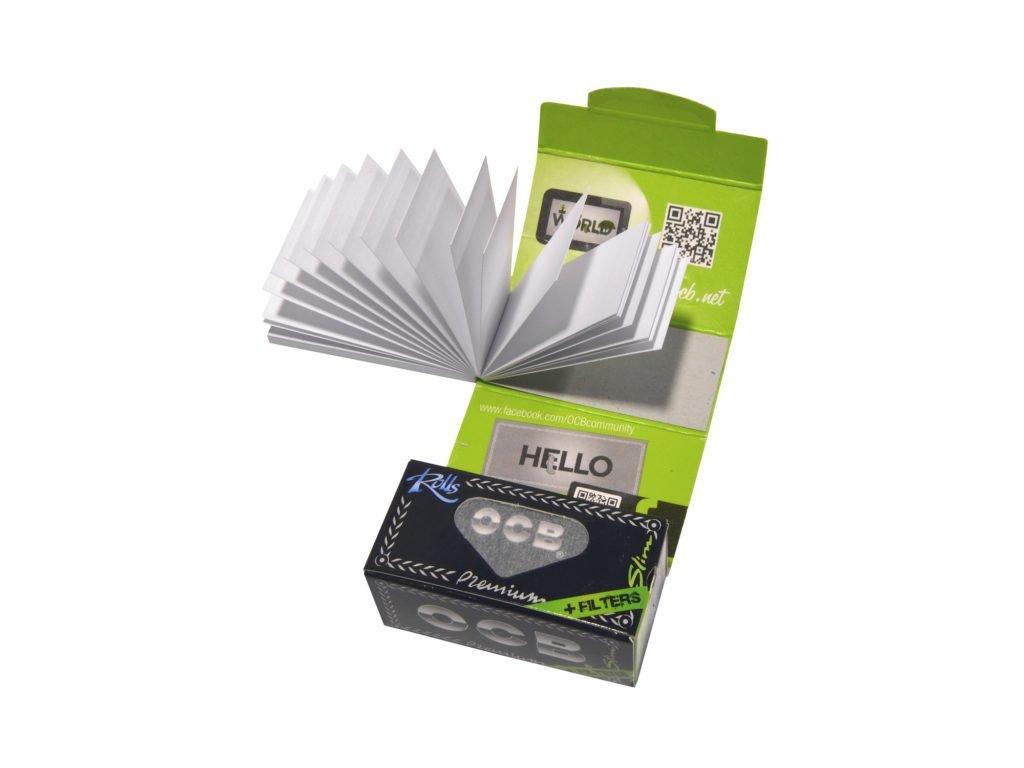 Cigaretové papírky OCB Rolls+Filters