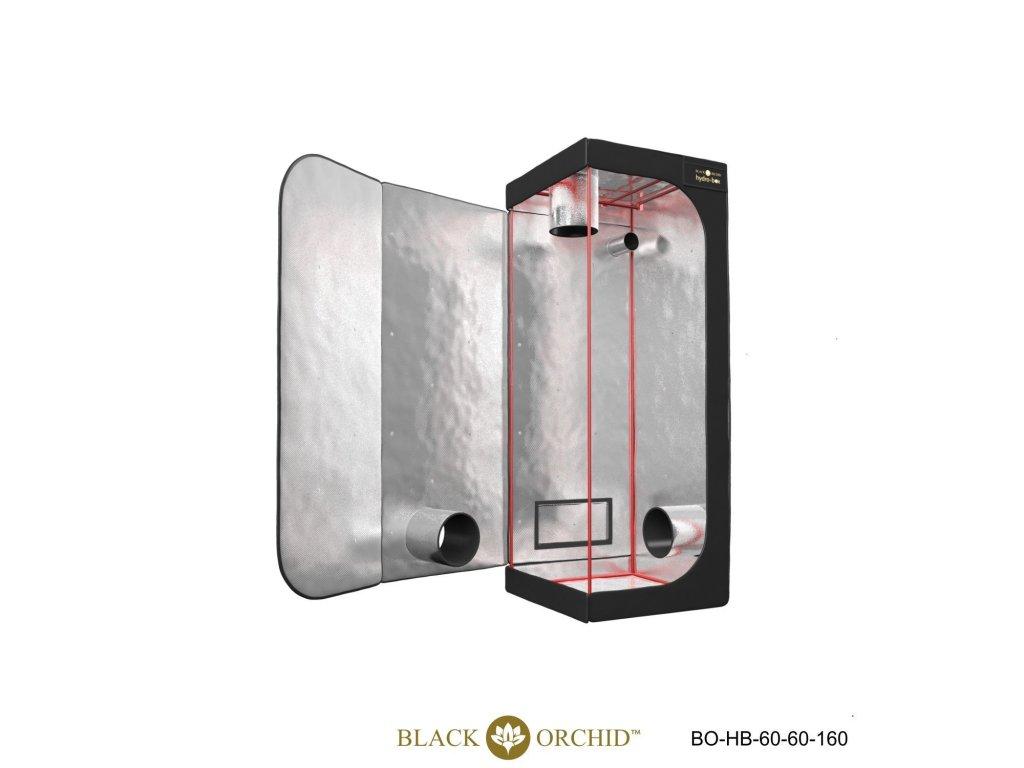 BLACK ORCHID HYDRO BOX 60X60X200CM TENT open