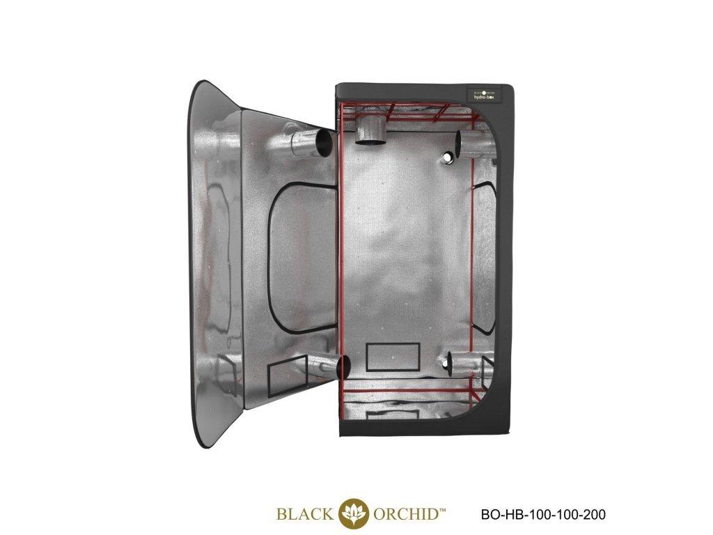 BLACK ORCHID HYDRO BOX 100X100X200CM TENT 1