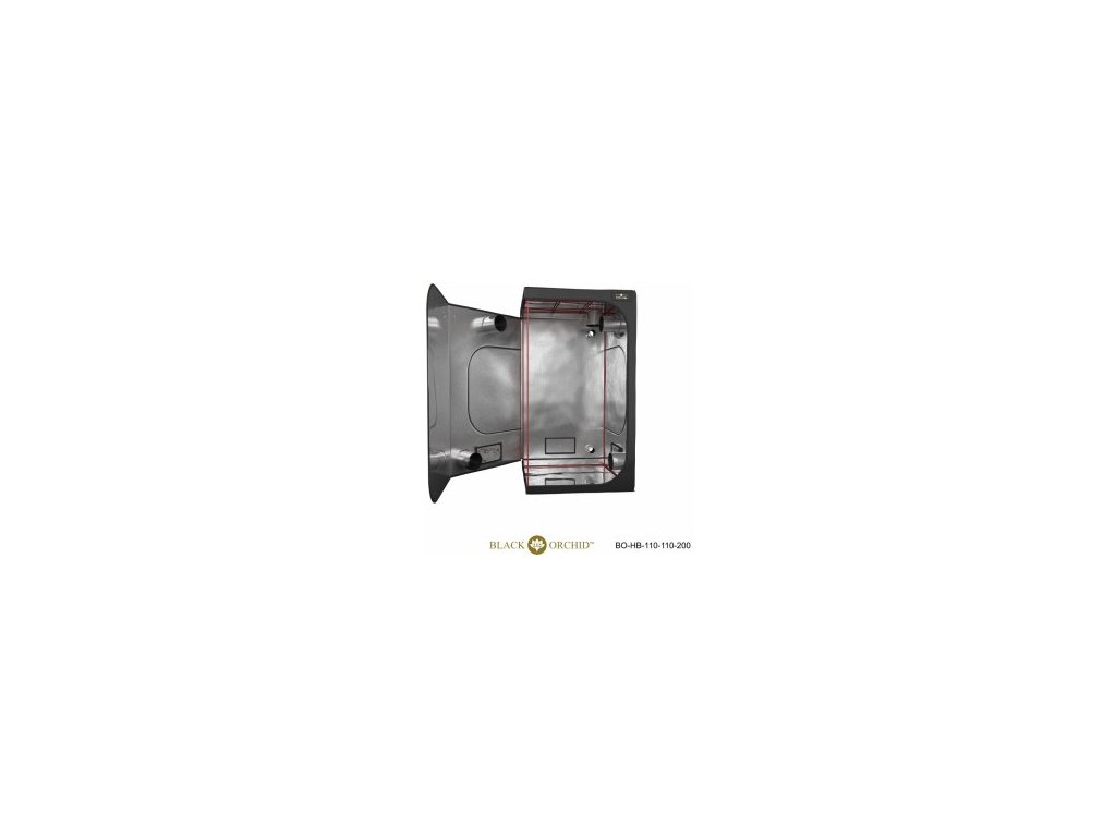BLACK ORCHID HYDRO BOX 110X110X200CM TENT2