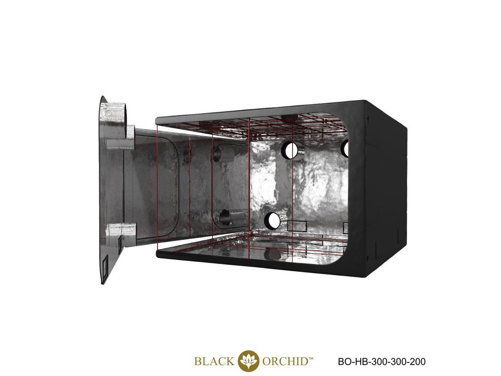 BLACK ORCHID HYDRO BOX 300X300X200CM TENT