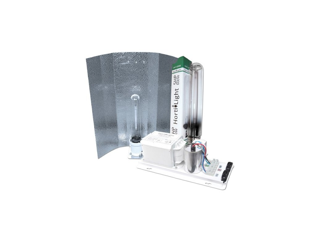 HortiLight Kit 600W (předřadník, stínidlo Classic, HPS výbojka 600W)