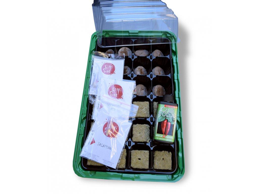 Chilli dárkový set pro pěstování