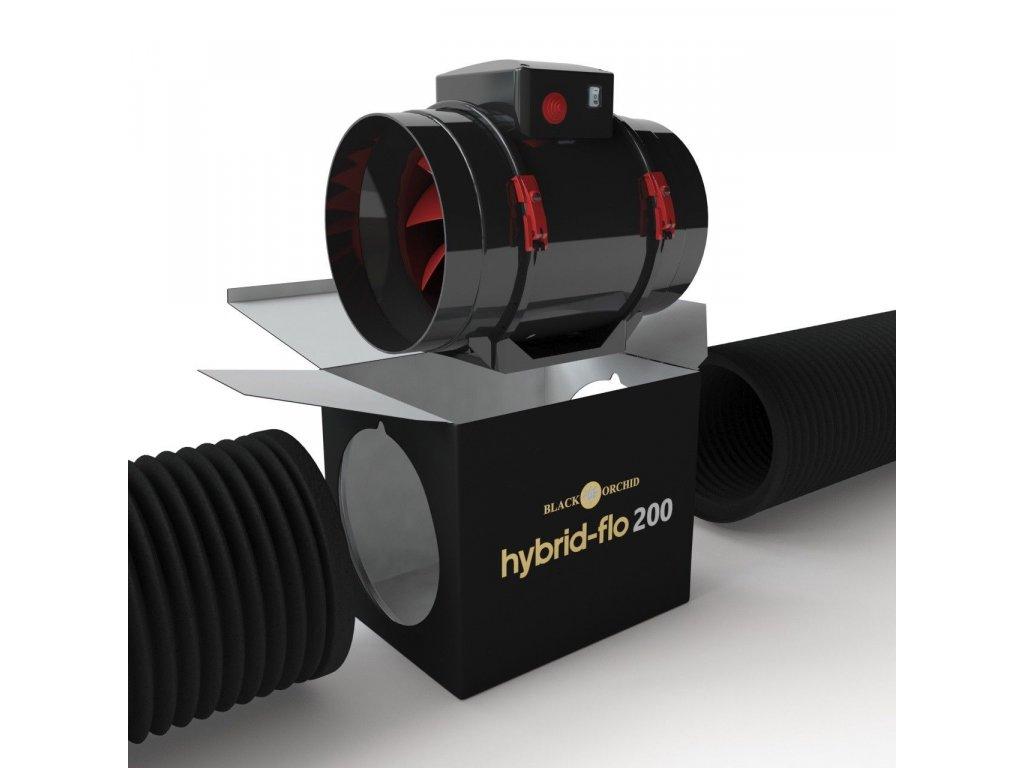 Black Orchid Hybrid Flo 200 mm, 1040m3hs l1600
