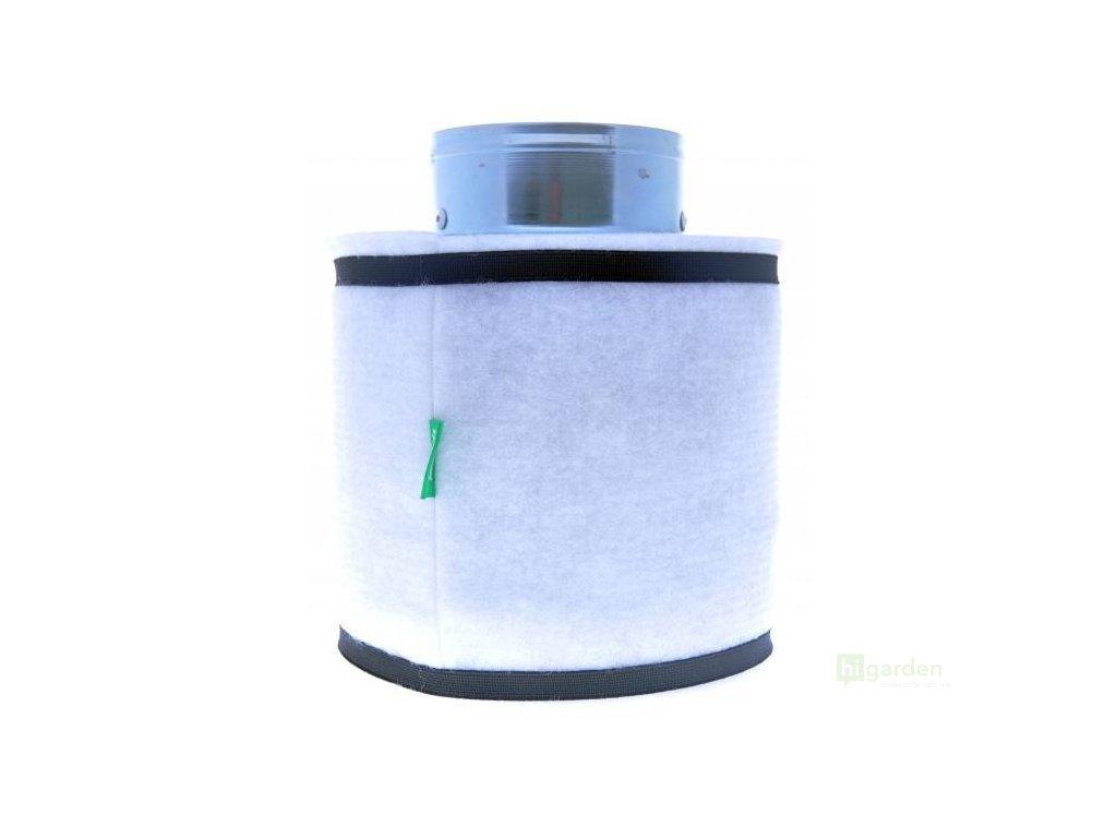 Black Orchid Even-Flo - uhlíkový hydroponický pachový filtr, 300 m3/h, 125 mm