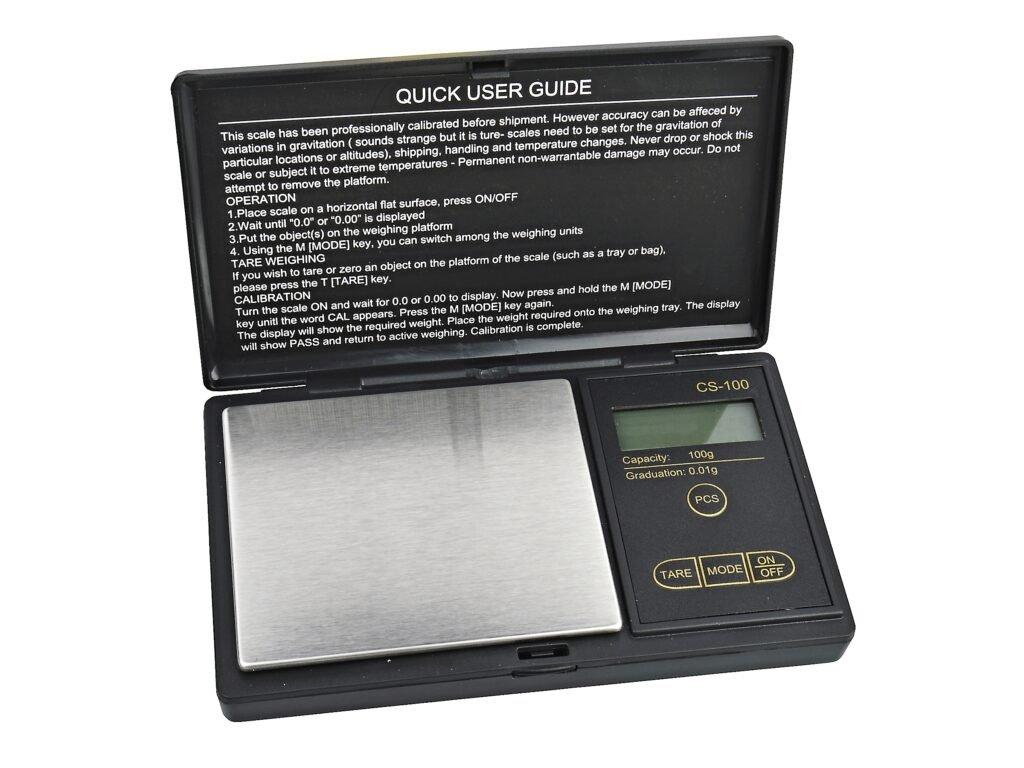 Digitální váha kapesní Myzo MZ 100 0,01 100g1