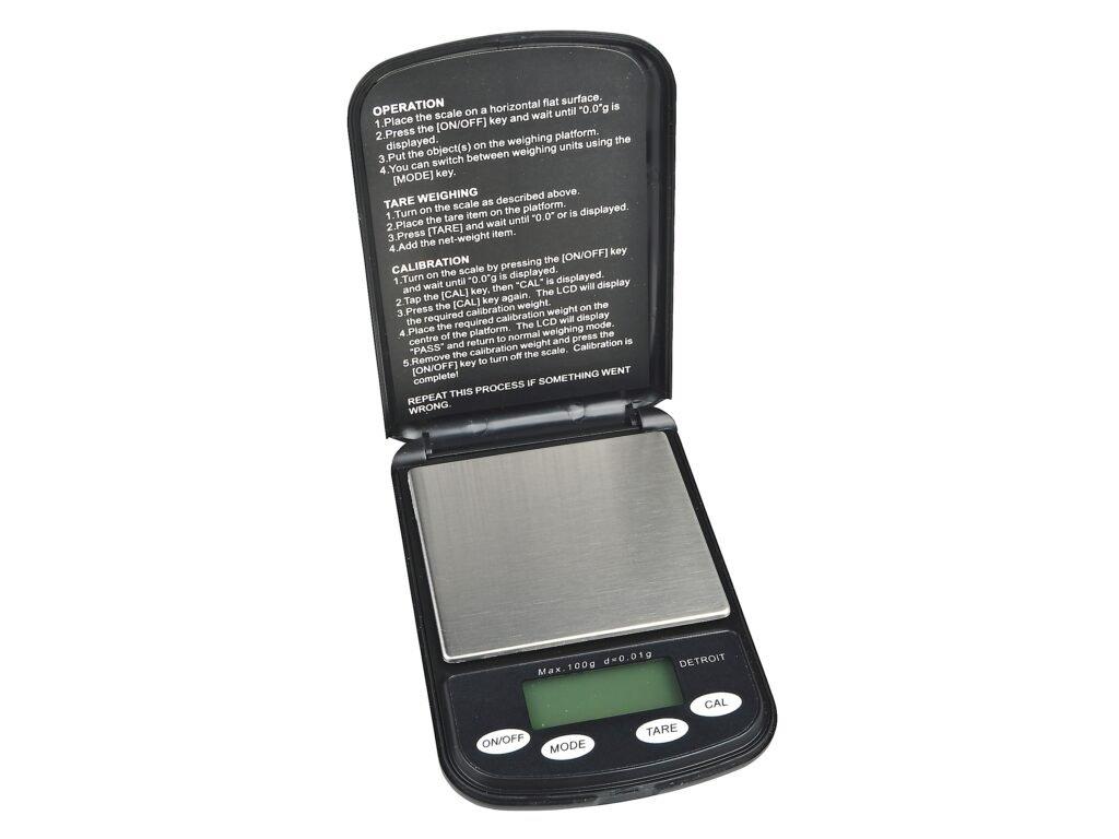 Digitální váha kapesní USA Detroit 0,01 100g 1