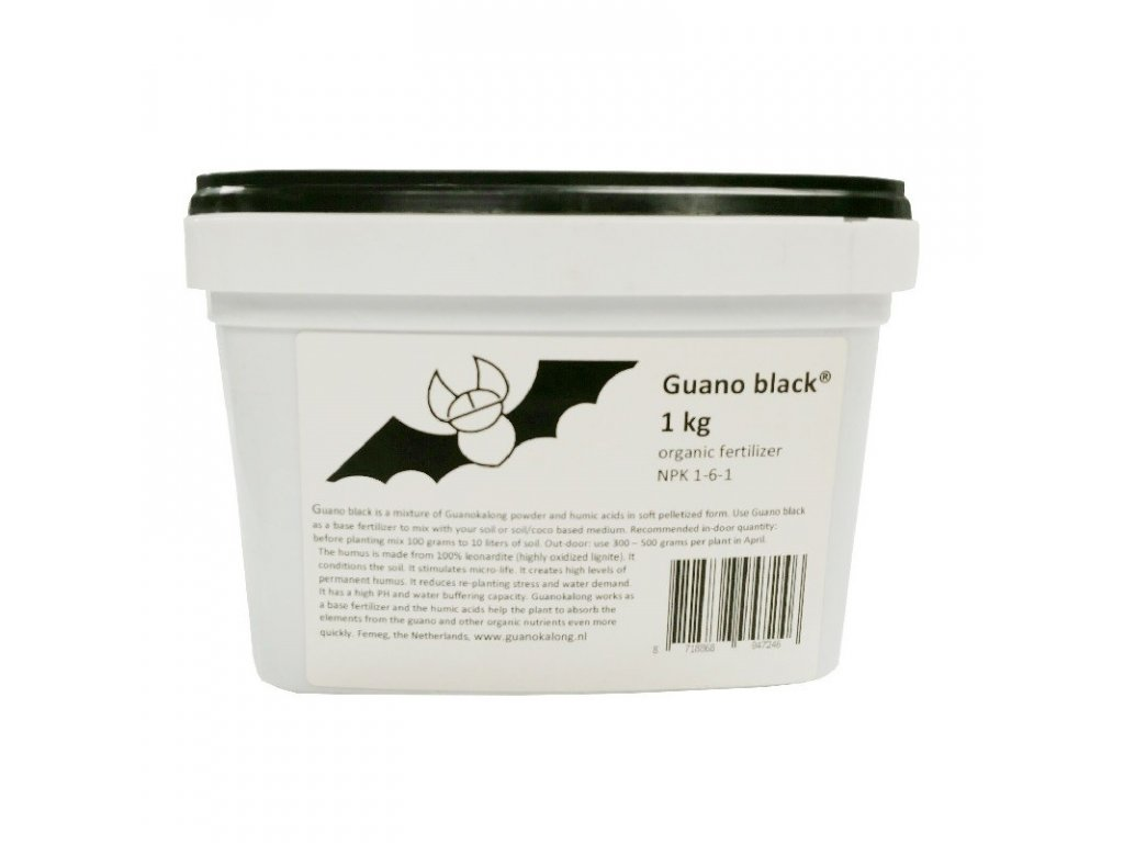 Guano Black 1 kg (NPK 1 6 1)