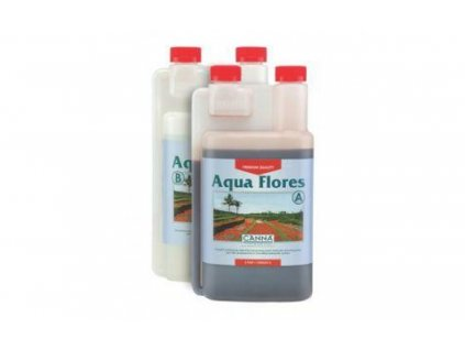 Hnojivo Canna Aqua Flores A+B 1l