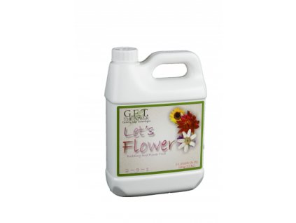 Hnojivo GET Let's flower 1 l