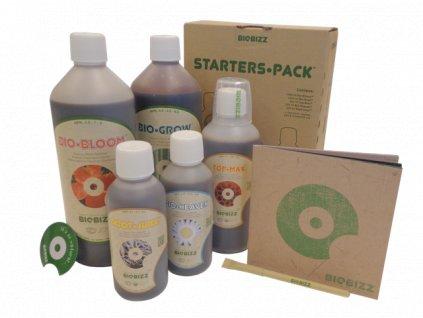 Kompletní sada hnojiv Biobizz Starters•Pack