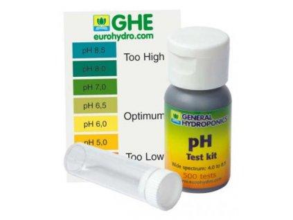 Kapky pro měření pH - GHE ph test kit