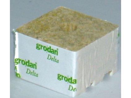 Grodan pěstební kostka - Delta 6,5 100x100 mm, malá díra