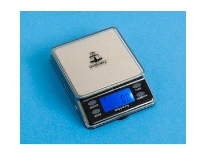 Digitální váha - MTT-200: MINNI TABLE TOP scale, černá 200g/0,01g