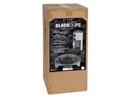 Pachový filtr Black Ops 1275 PRO, 60cm, 1275m3/hod, 200mm