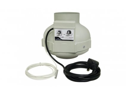 Ventilátor PRIMA KLIMA s regulací a termostatem 400m3/h, 125mm