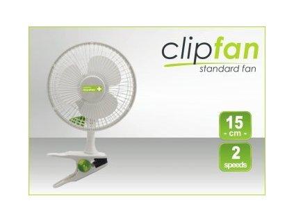 Klipsnový ventilátor PRO, průměr 15cm, 15W