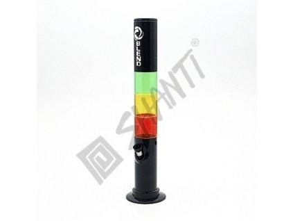 Bong acrylic Rasta Blend Theme 39 cm