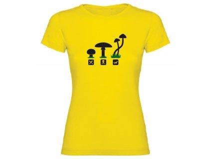 Dámské tričko - Letecká houba