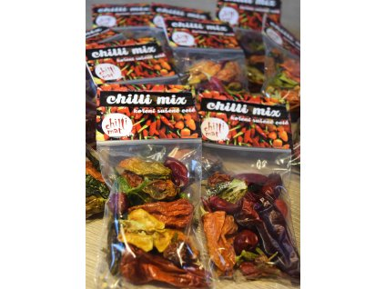 Sušene chilli papriky Mix 10g