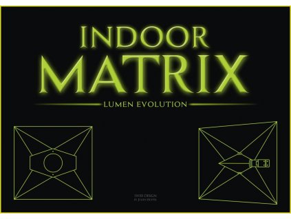 Stínidlo s odtahem INDOOR MATRIX 125mm