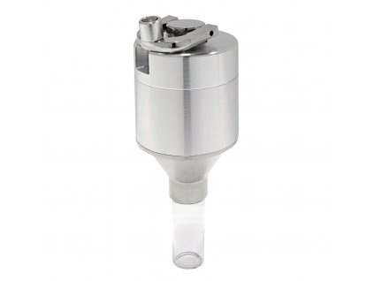 Drtič tabáku s kličkou Crank, kovový