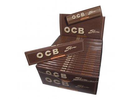 Cigaretové papírky OCB Slim VIRGIN.