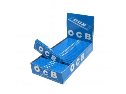 Cigaretové papírky OCB Blue krátké