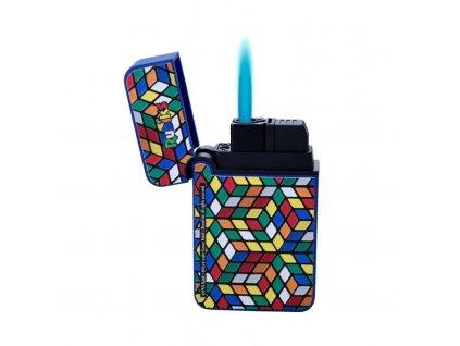 Tryskový zapalovač Prof Blue Flame Rubik's