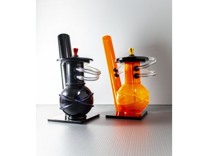 Bong akryl (plast) 40cm, 3 barevný