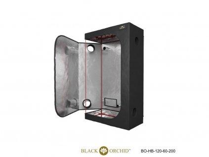 BLACK ORCHID HYDRO BOX 120X60X200CM TENT 1