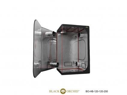 BLACK ORCHID HYDRO BOX 120X120X200CM TENT 1