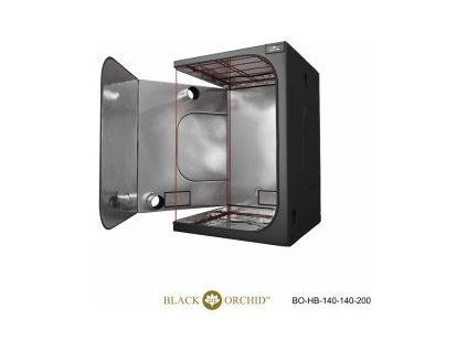 BLACK ORCHID HYDRO BOX 140X140X200CM TENT