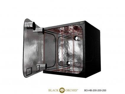 BLACK ORCHID HYDRO BOX 200X200X200CM TENT