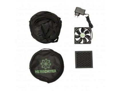 HERBDryer sušící síť Regular, 4 patra, filtr a ventilátor