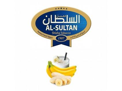 Tabák do vodní dýmky Al Sultan Banana&milk