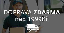 Doprava zdarma nad 2000Kč