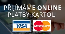 Přijímáme online platby kartou