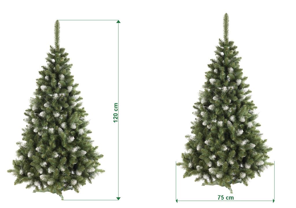 umely-vanocni-stromecek-borovice-PAULA-s-bilymi-konci-rozmery-120cm-100cm-stromeckov