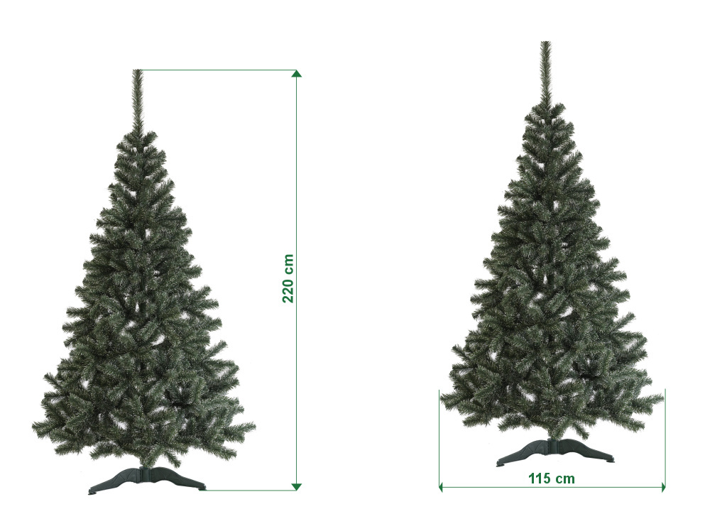umely-vanocni-stromecek-jedle-LUX-s-bilymi-konci-rozmery-220cm-120cm-stromeckov