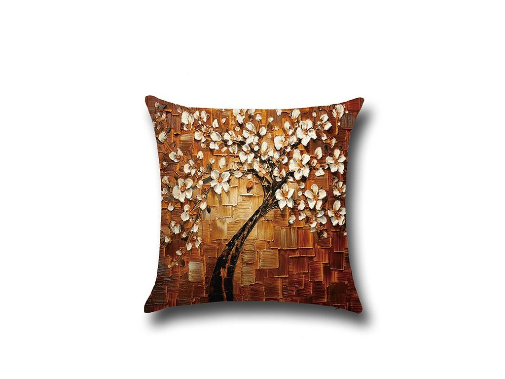 1 Nordic Tree Three dimensional Painting Pillows Decor Home Decoration Cotton Pillow Case 45 45cm Cushion Cover