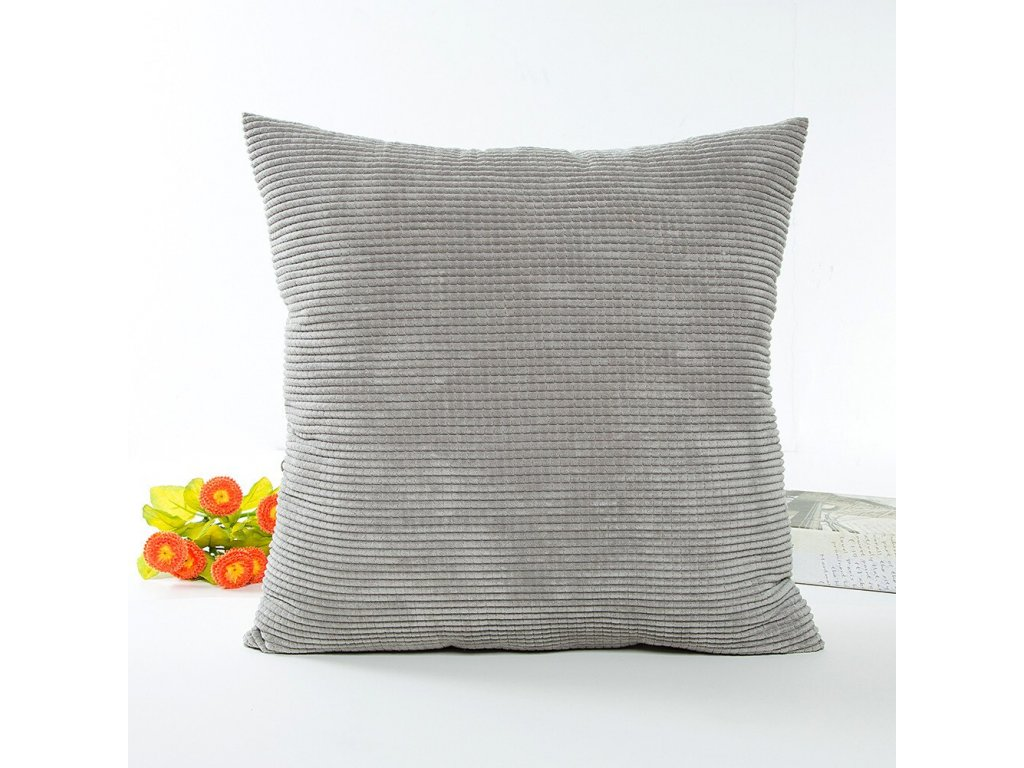 2 1 PC 45X45cm Household Bed Sleep Solid Pillow Case Waist Throw Pillow Soft Cover Home Simple