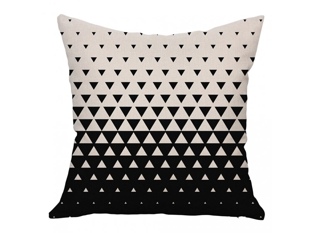 2 Decorative Pillows Geometric Printed Square Pillow Cover Cushion Case Toss Pillowcase Hidden Zipper Closure 45x45cm kussensloop