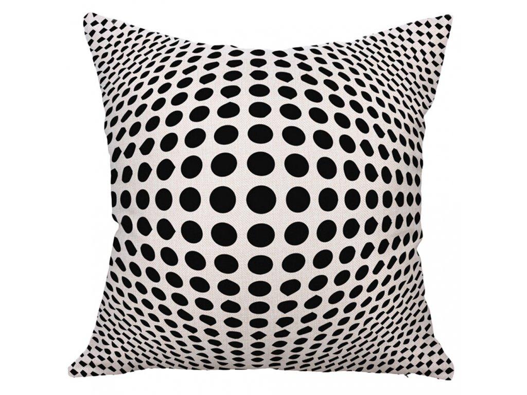 1 Decorative Pillows Geometric Printed Square Pillow Cover Cushion Case Toss Pillowcase Hidden Zipper Closure 45x45cm kussensloop