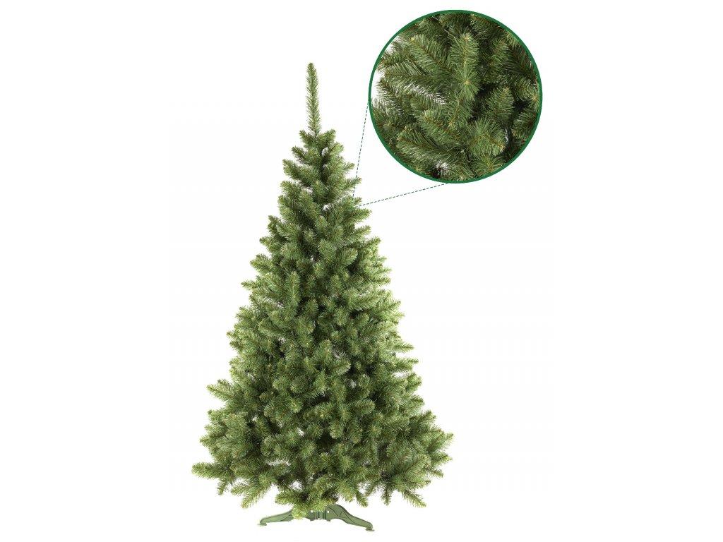 umely vanocni stromecek borovice PAULA s detailem stromeckov