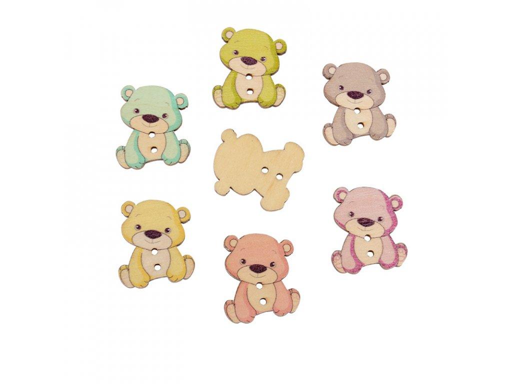 knoflik medvidek